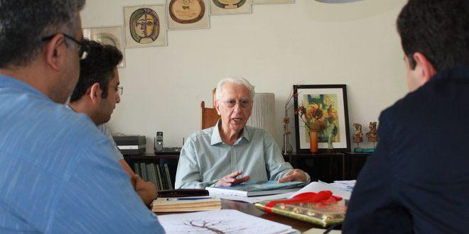 زندگینامه معمار جهانگیر درویش بانی